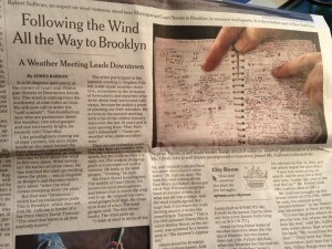 nyt weather notebook